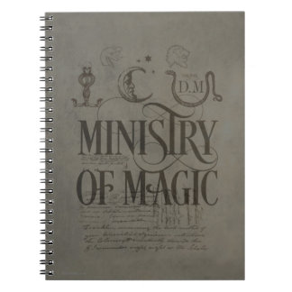 Harry Potter Spell | MINISTRY OF MAGIC Notebook