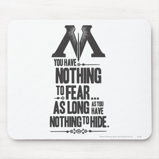Harry Potter Spell | Ministry of Magic Propaganda Mouse Pad