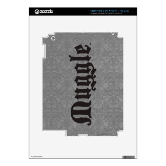 Harry Potter Spell | Muggle iPad 3 Decals