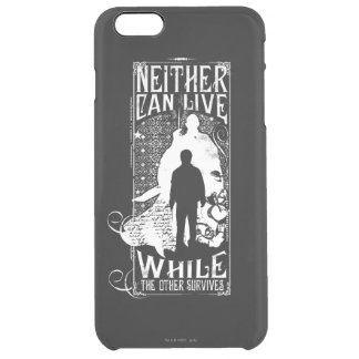 Harry Potter Spell   Neither Can Live Clear iPhone 6 Plus Case