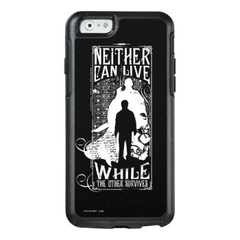 Harry Potter Spell | Neither Can Live Otterbox Iphone 6/6s Case by harrypotter at Zazzle