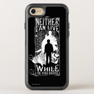 Harry Potter Spell | Neither Can Live OtterBox Symmetry iPhone 8/7 Case
