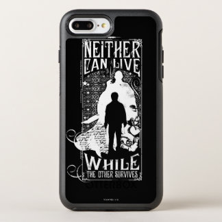 Harry Potter Spell   Neither Can Live OtterBox Symmetry iPhone 8 Plus/7 Plus Case