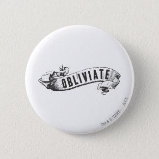 Harry Potter Spell | Obliviate Pinback Button