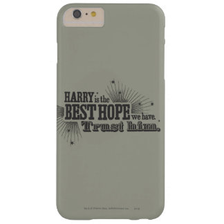Harry Potter Spell   Our Best Hope Barely There iPhone 6 Plus Case