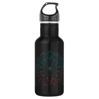 Harry Potter Spell | Spells & Charms Instruction C Water Bottle