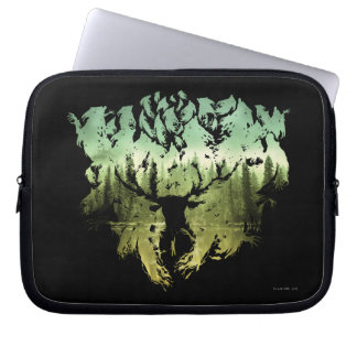 Harry Potter Spell | Stag Patronus Computer Sleeve