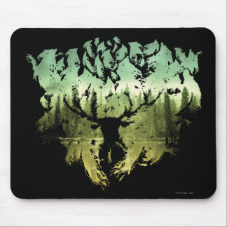 Harry Potter Spell | Stag Patronus Mouse Pad