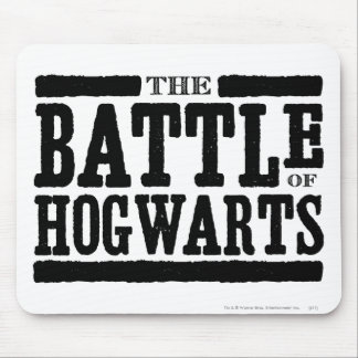 Harry Potter Spell | The Battle of Hogwarts Mouse Pad