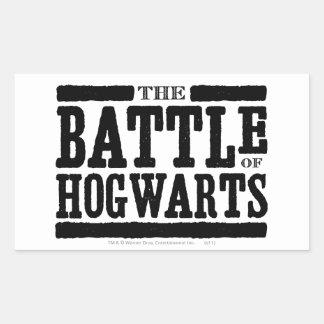 Harry Potter Spell | The Battle of Hogwarts Rectangular Sticker