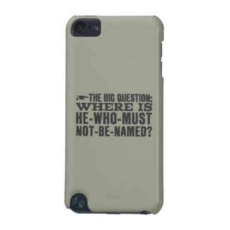 Harry Potter Spell | Where is Voldermort? iPod Touch (5th Generation) Cover