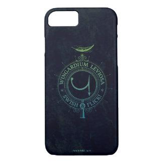 Harry Potter Spell | Wingardium Leviosa Graphic iPhone 8/7 Case