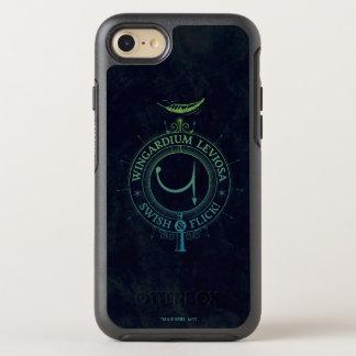 Harry Potter Spell | Wingardium Leviosa Graphic OtterBox Symmetry iPhone 8/7 Case