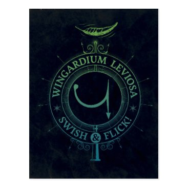 harrypotter Harry Potter Spell | Wingardium Leviosa Graphic Postcard