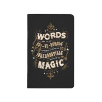 Harry Potter Spell   Words Are Our Most Inexhausti Journal