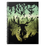 HARRY POTTER™ Stag Patronis Spiral Notebook