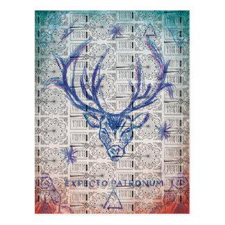 Harry Potter | Stag Patronus Sketch Postcard