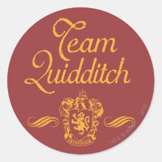 Harry Potter | Team QUIDDITCH™ Classic Round Sticker