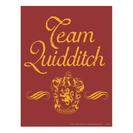 Harry Potter   Team QUIDDITCH™ Postcard