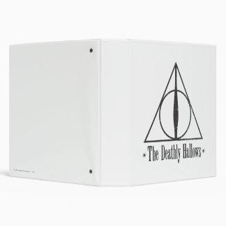 Harry Potter | The Deathly Hallows Emblem 3 Ring Binder