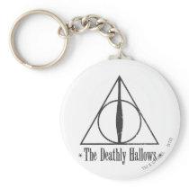 Harry Potter   The Deathly Hallows Emblem Keychain
