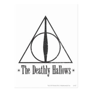 Harry Potter | The Deathly Hallows Emblem Postcard