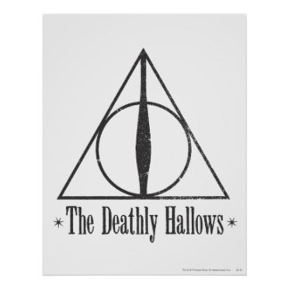 Harry Potter | The Deathly Hallows Emblem Poster