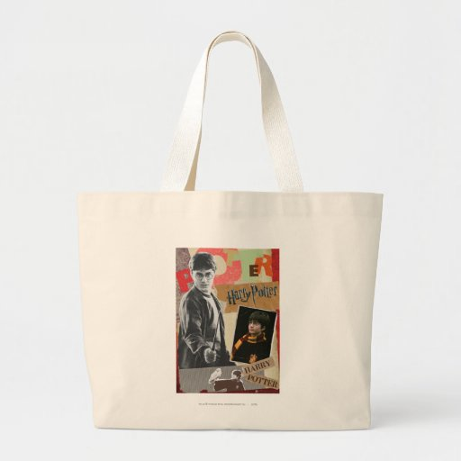 Harry Potter Then and Now Tote Bag