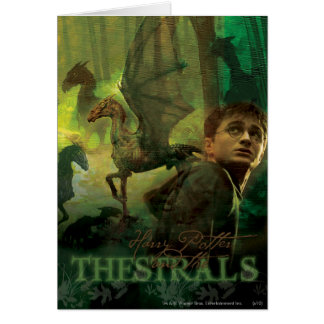 Harry Potter Thestrals Card