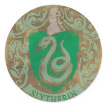 Harry Potter | Vintage Slytherin Classic Round Sticker