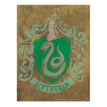 Harry Potter | Vintage Slytherin Postcard