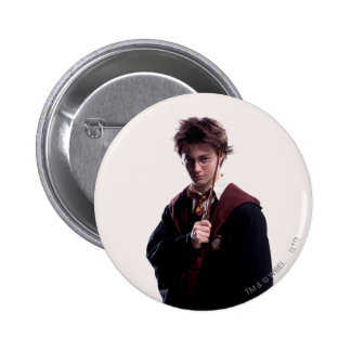 Harry Potter Wand Raised 2 Inch Round Button