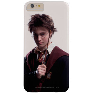 Harry Potter Wand Raised Barely There iPhone 6 Plus Case
