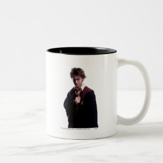 Harry Potter Wand Raised Coffee Mug