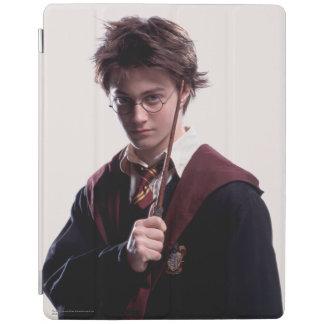 Harry Potter Wand Raised iPad Cover