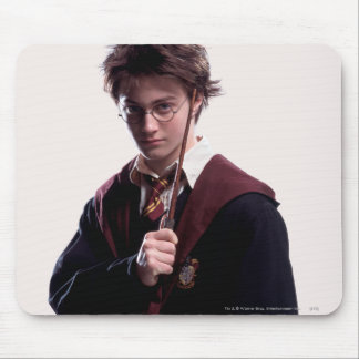 Harry Potter Wand Raised Mouse Pad