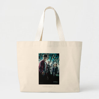Harry Potter With Dumbledore Ron and Hermione 1 Canvas Bags