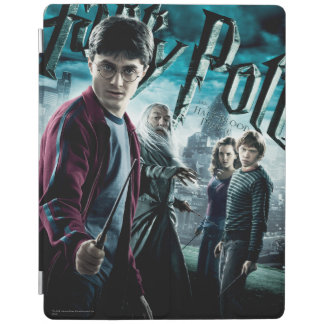Harry Potter With Dumbledore Ron and Hermione 1 iPad Smart Cover