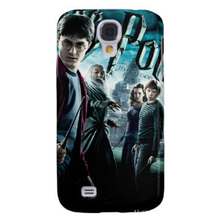 Harry Potter With Dumbledore Ron and Hermione 1 Samsung Galaxy S4 Case