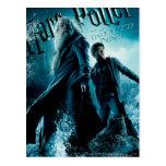 Harry Potter y Dumbledore en las rocas 1 Postal