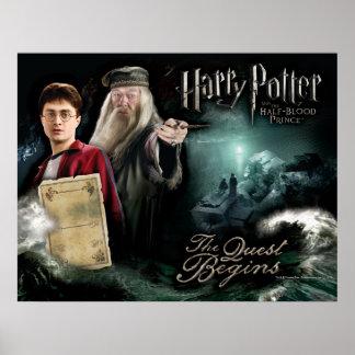 Harry Potter y Dumbledore Póster