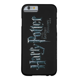 Harry Potter y el mortal santifica el logotipo 1 2 Funda De iPhone 6 Barely There