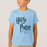 Harry Potter y el mortal santifica el logotipo 1 Playera