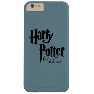 Harry Potter y el mortal santifica el logotipo 2 Funda De iPhone 6 Plus Barely There