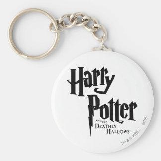 Harry Potter y el mortal santifica el logotipo 2 Llaveros Personalizados