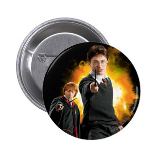 Harry Potter y Ron Weasely Pin