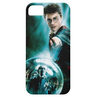 Harry Potter y Voldemort solamente uno pueden iPhone 5 Funda