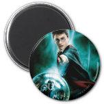 Harry Potter y Voldemort solamente uno pueden sobr Imán De Nevera
