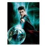 Harry Potter y Voldemort solamente uno pueden Tarjetas Postales