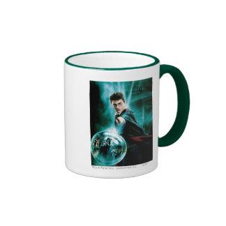 Harry Potter y Voldemort solamente uno pueden Taza De Dos Colores